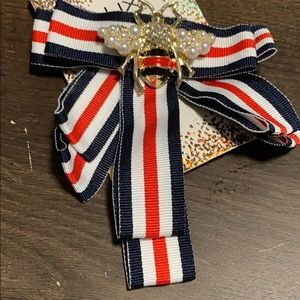 Accessories - Red /White/ Blue Neck Bee 🐝 Tie